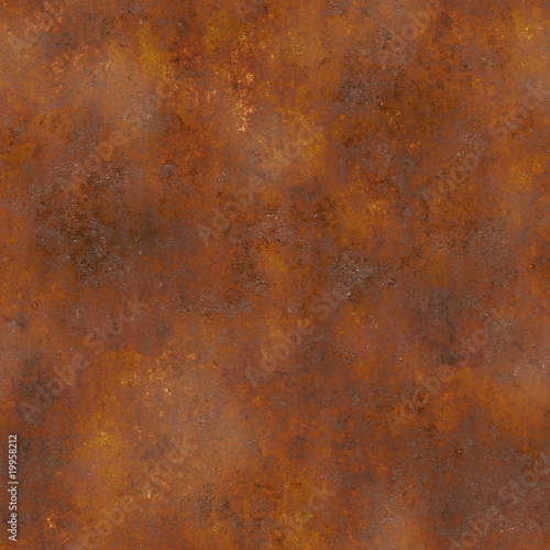 Seamless Rust Texture Tablou Canvas