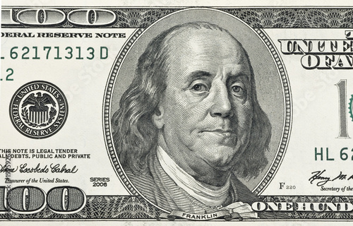Fototapeta Ben Franklin obraz