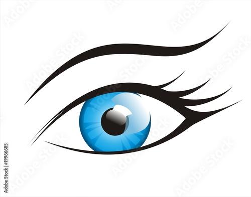 Fotografie, Obraz  Eye symbol