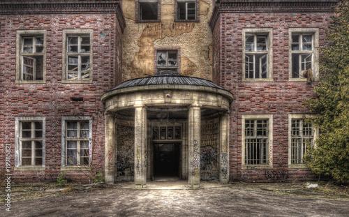 Canvas Prints Old Hospital Beelitz Geisterhaus