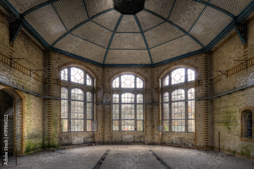 Recess Fitting Old Hospital Beelitz alte Halle