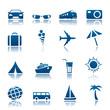 Travel & tourism icon set