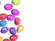 canvas print picture - bunte eier