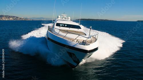 Foto  yacht en méditerranée