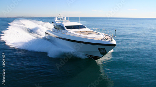 Fotografia  yacht en méditerranée