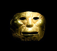 Golden Mask In The Gold Museum...