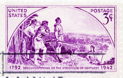 Photo  State of Kentucky Sesquicentennial, circa 1942 .