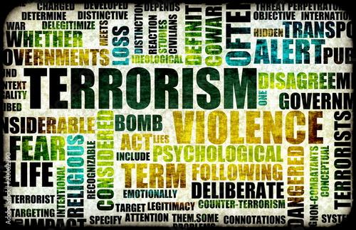Fotografía  Terrorism Alert