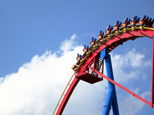 People In Roller Coaster Again...