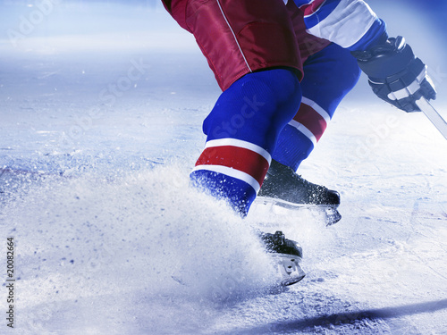 eishockey Canvas Print