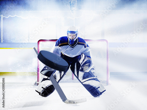 Photo  eishockey torwart
