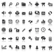 48 icons set 1 website & business