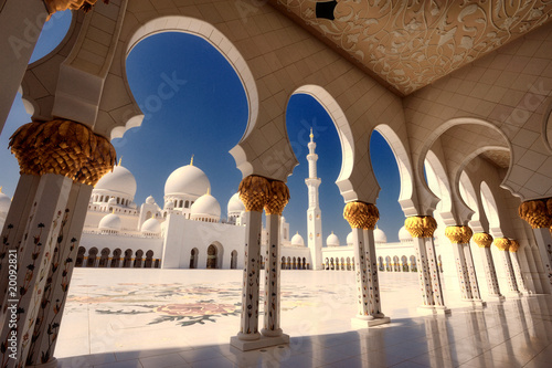 Recess Fitting Dubai Scheich Zayed Moschee in Abu Dhabi XX