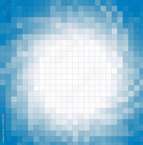 Foto op Aluminium Pixel fondo cuadriculado azules