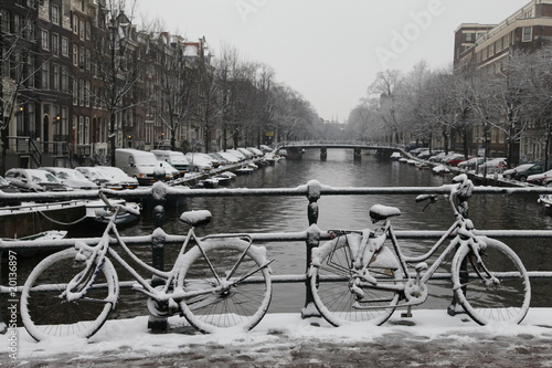 Amsterdam winter #20136897