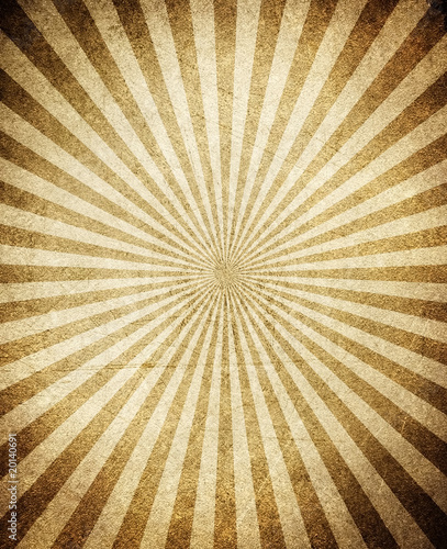 Photo  vintage rays pattern background