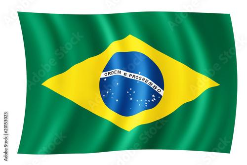Photo  Brasilien Fahne