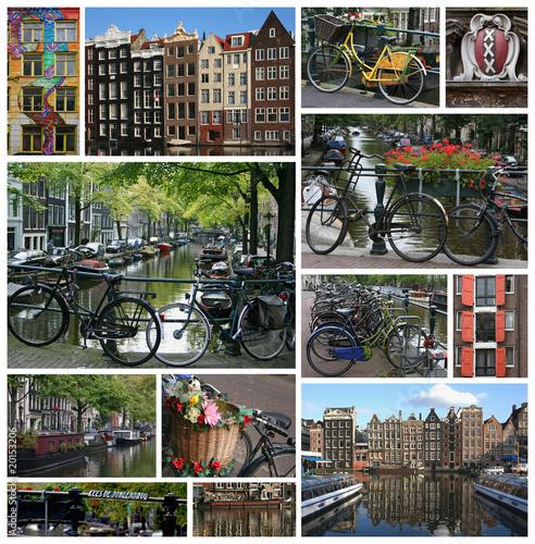 Photo  Canaux d'Amsterdam