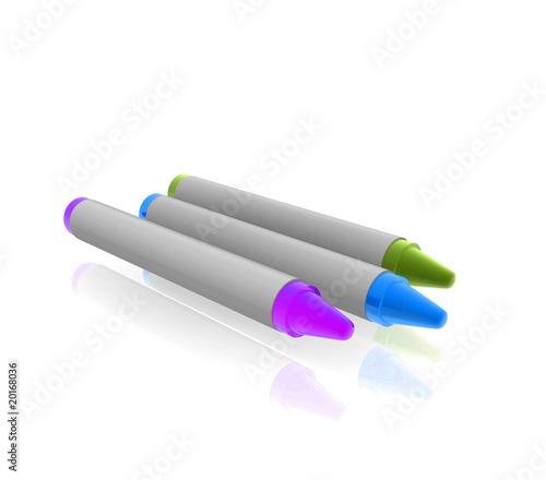 Coloring crayons illustraton – kaufen Sie diese Illustration und ...