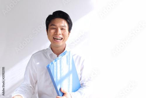 Fotografie, Obraz  笑顔の男性