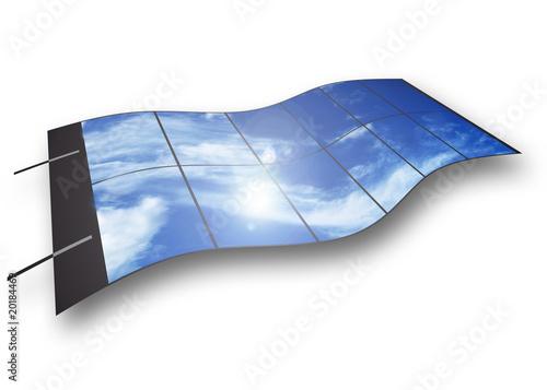 Fotografie, Obraz  Fotovoltaico flessibile