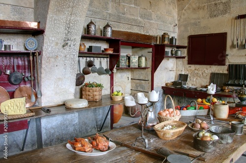 cuisine campagnarde - Buy this stock photo and explore similar ...