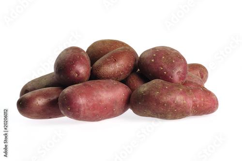 freigestellte Kartoffeln Wallpaper Mural