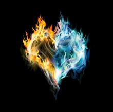 Fire-ice Heart