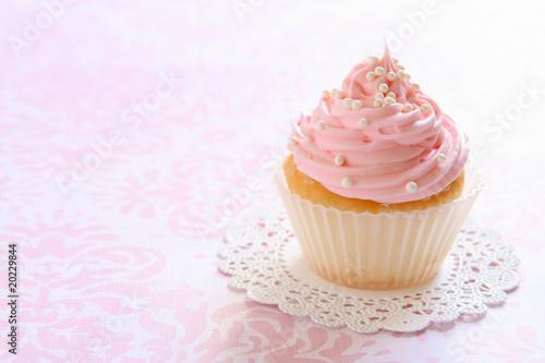 Photo  Pink Cupcake