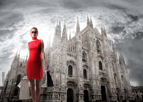 Foto op Plexiglas Milan Capital of fashion