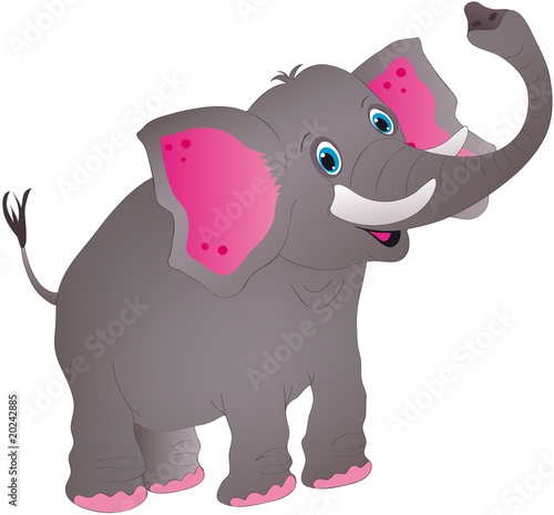 Obraz słoń - fototapety do salonu
