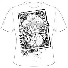 T-Shirt Druck Joker