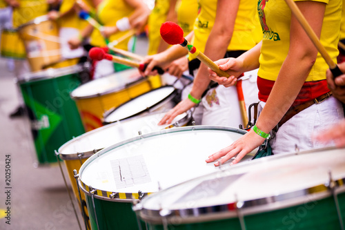 samba drums Canvas