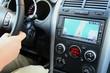 PKW Innenraum, Navigationsgerät, Amaturenbrett