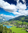 A small swiss village near The Mountain Titlis