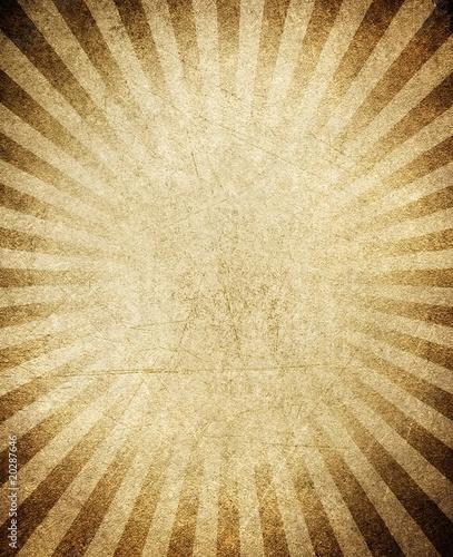 vintage rays pattern background Canvas Print