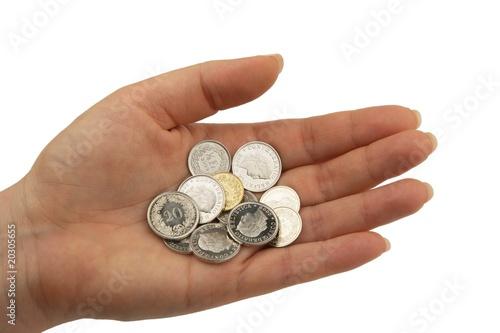 Schweizer Franken Münzen Rappen Buy This Stock Photo And Explore