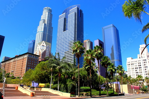 Fototapety Los Angeles  downtown-los-angeles
