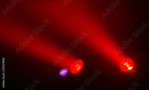 licht, disco, scheinwerfer, club © masterric3000