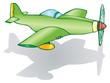 Plane flying low