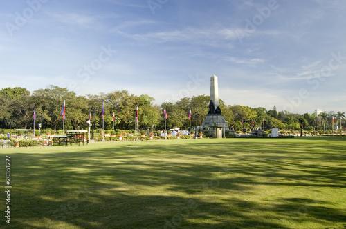 Lunetta Park in Manila, Philippines