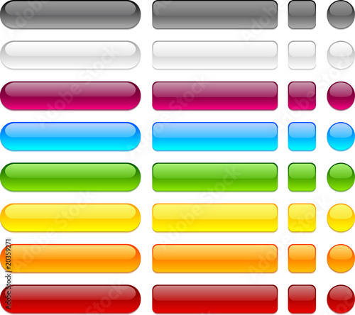 Photo  Web buttons.