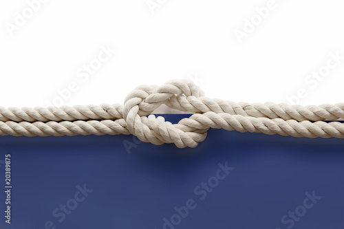 Obraz Knot on the rope - fototapety do salonu