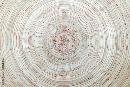 Printed kitchen splashbacks Spiral Bambusspirale