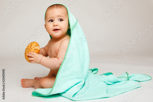 In de dag Retro Lovely baby