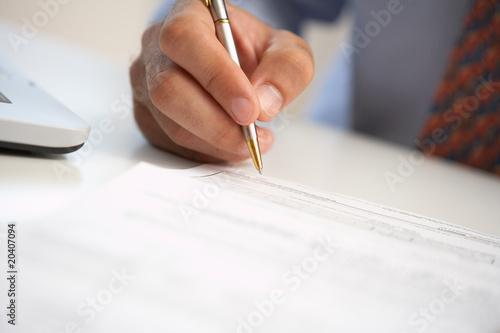 Fotografía  signing