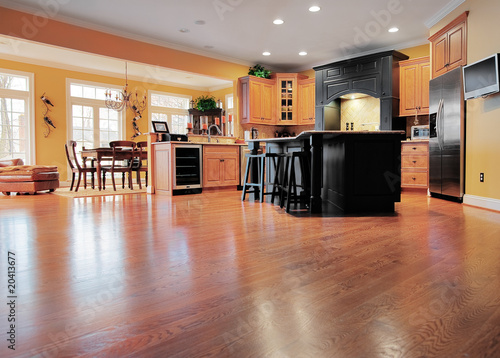 Photo Home Interior With Wood Floor