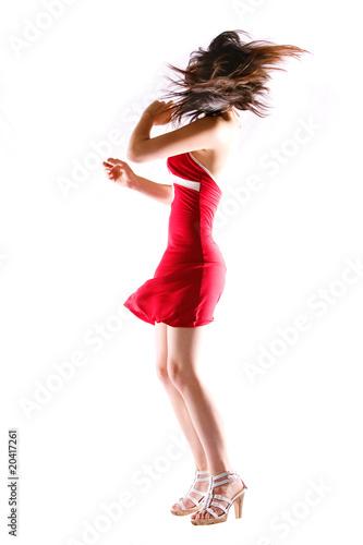 Foto op Aluminium Dance School Fashion model