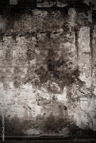 Spoed Fotobehang Baksteen muur wall