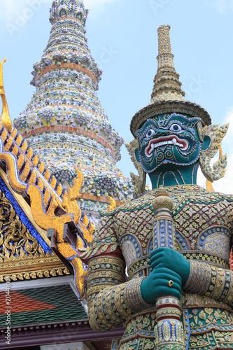 Poster Bangkok タイ エメラルド寺院 モック